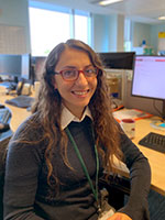 Charlotte Al-Maadanli, Building Control Surveyor, Aylesbury Vale District Council