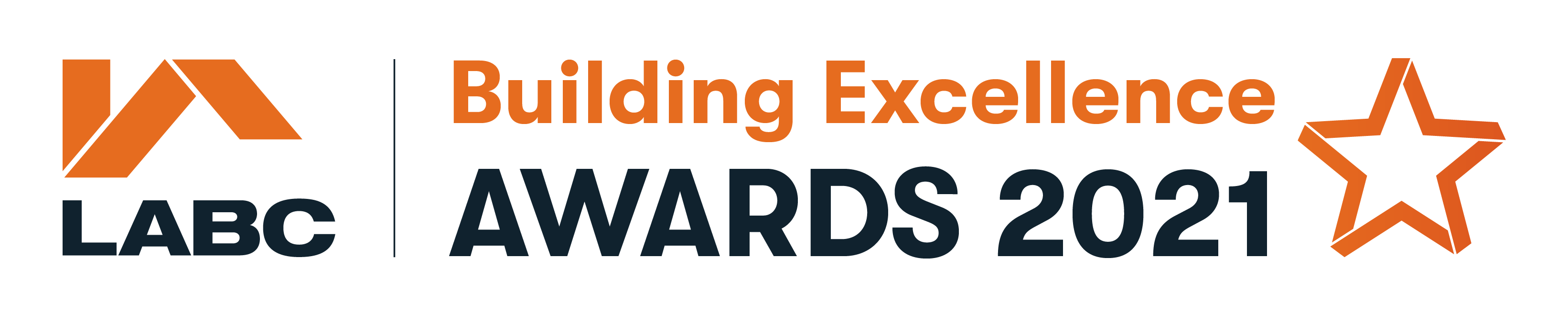 LABC Building Excellence Awards logo 2021