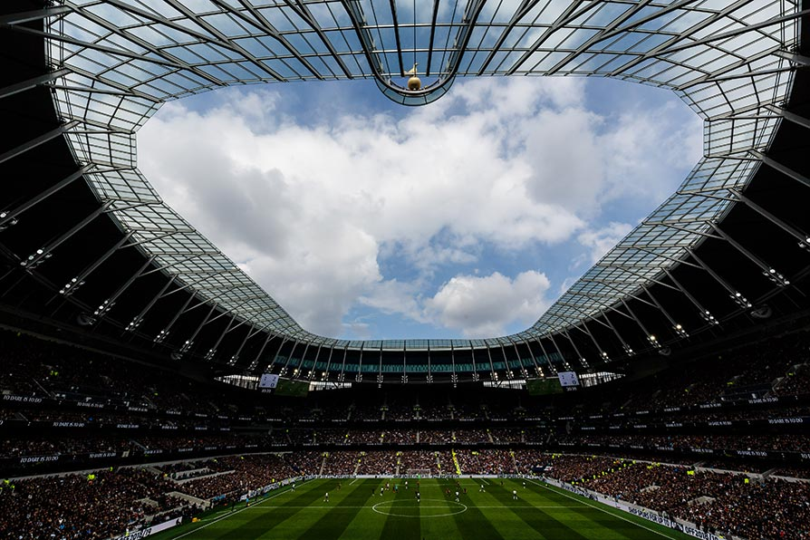 Spurs FC new stadium roof design