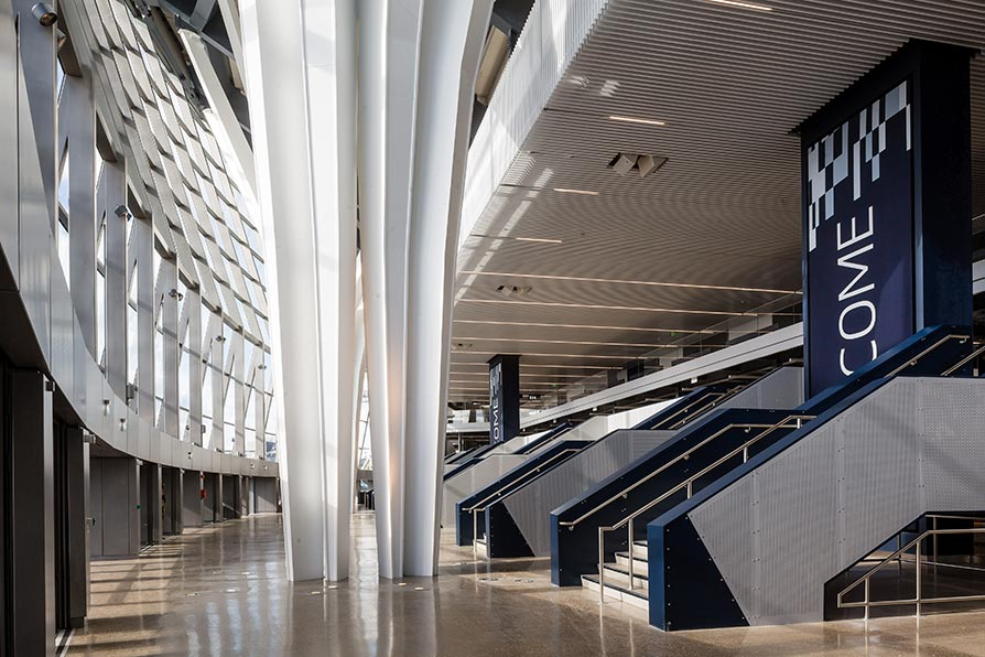 Spurs FC new stadium – welcome area