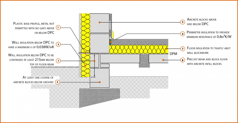 Beam And Block Floor >> E5smew1 Suspended Beam And Block Floor Insulation Slab Labc