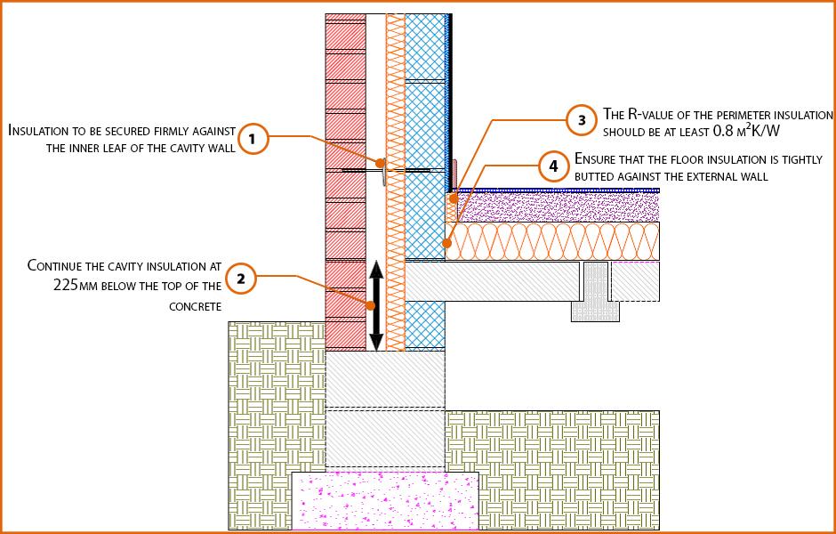 E5mcpf5 Suspended Beam And Block Floor 100mm Insulation