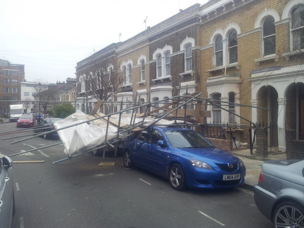 Camden Borough Council dangerous structure