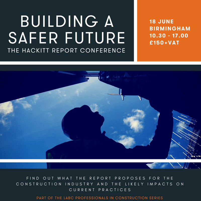 Building a Safer Future Conference - LABC