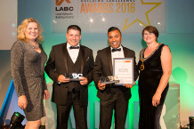 Total Planning Solutions (UK) Ltd at the LABC Awards