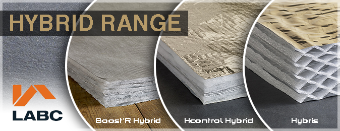 Actis Hybrid range insulation