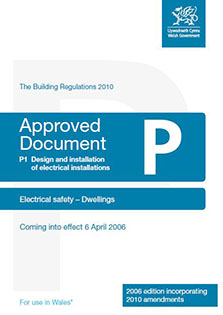 Part P Approved Document - front cover
