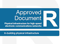 Front cover of Approved Document R - Wales