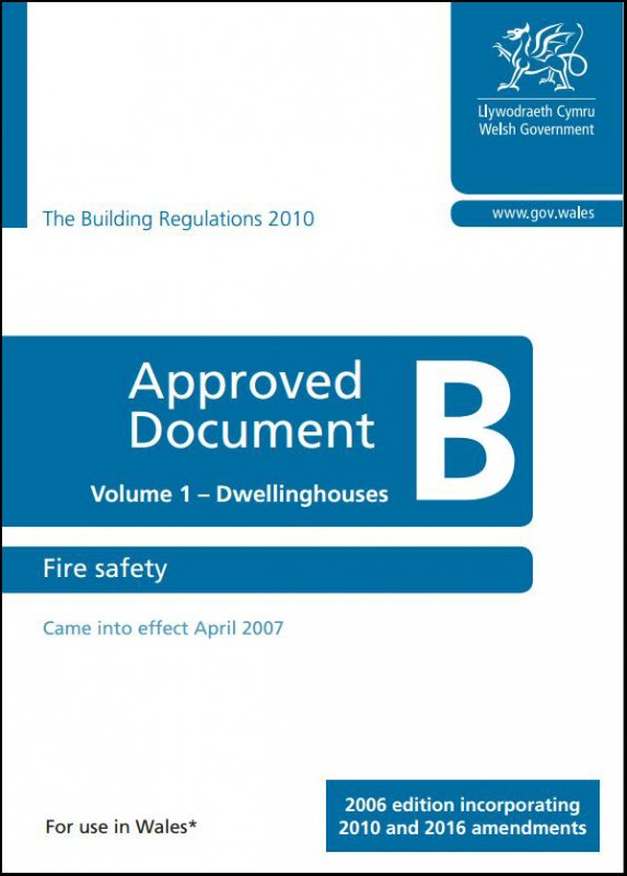 Part B Building Regulations - Approved Document - Wales
