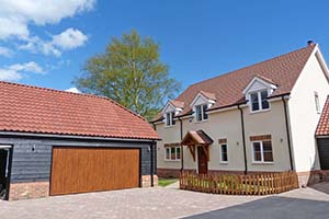Bramley Gardens, Greenfield - LABC new homes