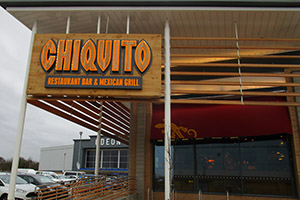 Chiquito restaurant - building control commercial development