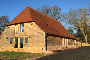 Church Farm, High Halden - barn conversion
