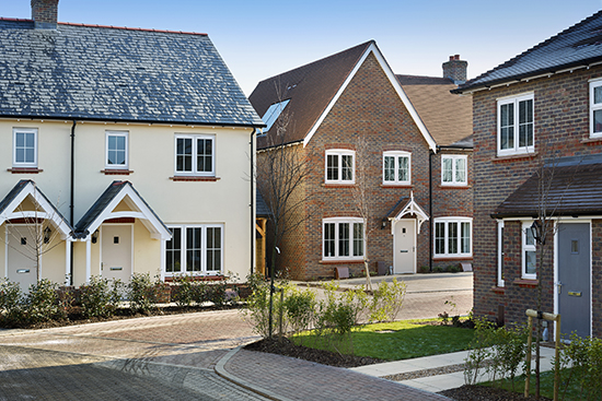 Croudace new homes at Barnham - with the help of LABC