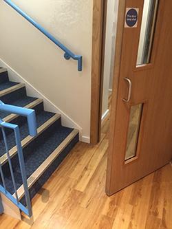 Staircase Regulations Uk >> How to get it right: Door swings | LABC