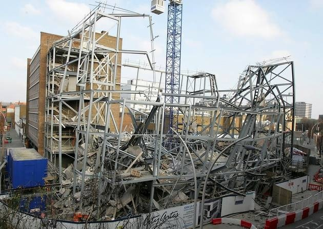 City Gates Christian Centre - steel frame building collapse - Ilford Recorder