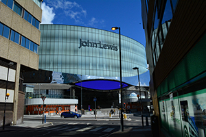 John Lewis fit-out birmingham