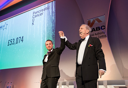 LABC Pancreatic Cancer UK - Grand total at Grand Finals