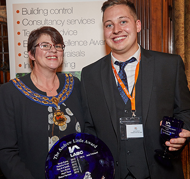 Jack Pritchard - LABC trainee of the year 2016