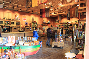 The Manada Town Shop interior, Chester Zoo