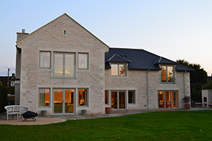 Pippin House, Limpley Stoke, Bath - self-build - LABC
