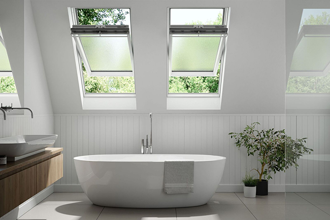 Keylite Roof Windows bathroom image