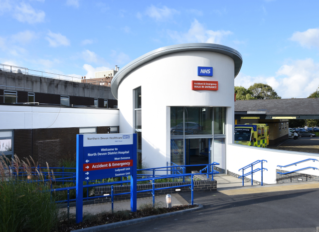 North Devon District Hospital, Raleigh Park, Pilton