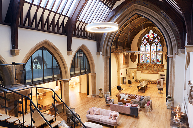 Old Trinity Church, LABC Building Excellence Awards