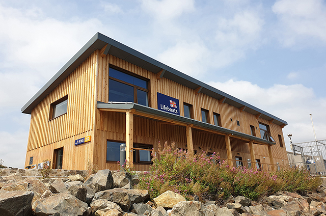 RNLI Penlee Lifeboat Station, LABC Building Excellence Awards