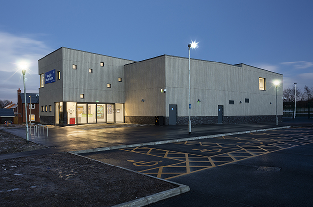 Standish Leisure Centre, LABC Building Excellence Awards