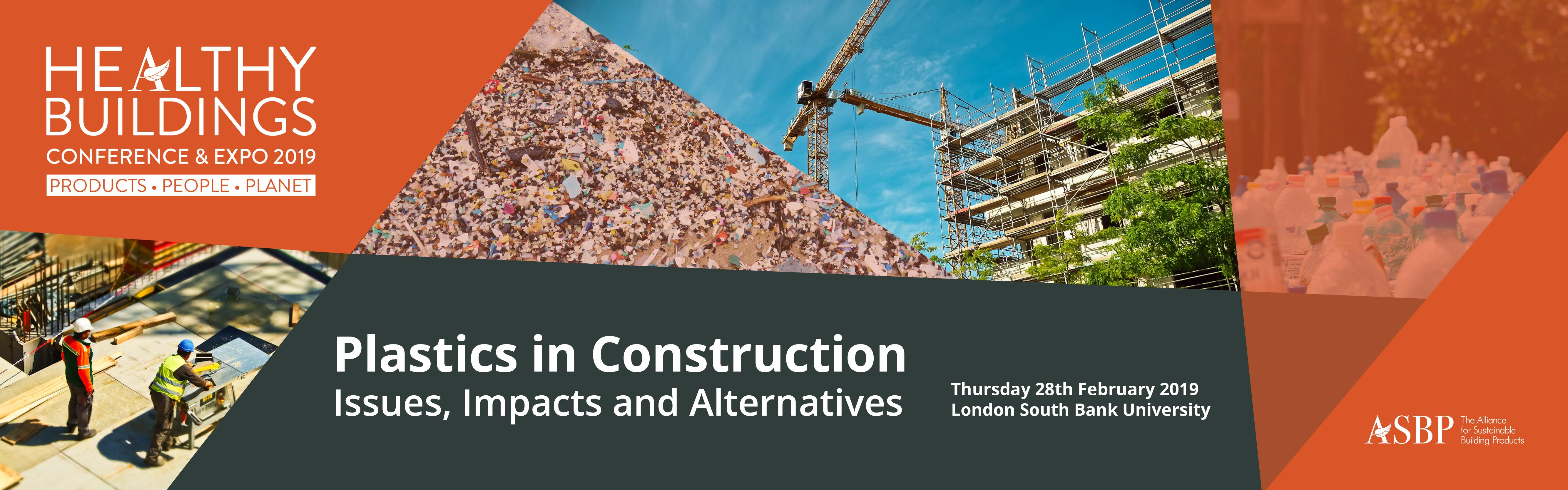 Plastics in Construction conference - Issues, Impacts and ...