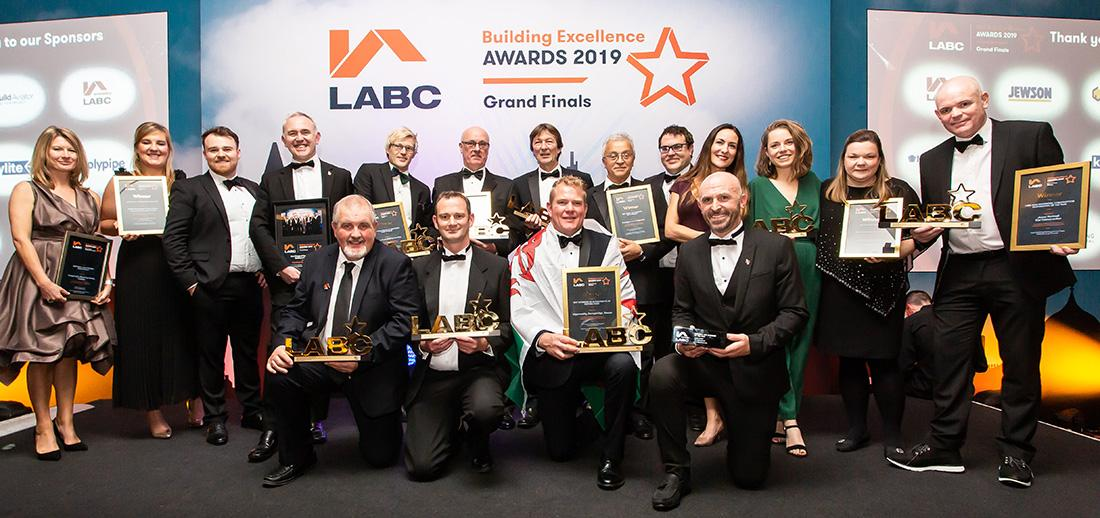 LABC Grand Finals Awards winners