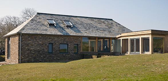 Barn conversion at Hinterland House, Northpetherwin, Launceston, Cornwall wins at 2017 LABC Building Excellence Awards Grand Final