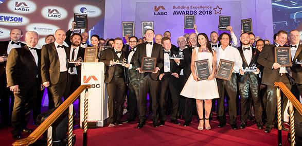 London LABC Building Excellence Awards winners 2018