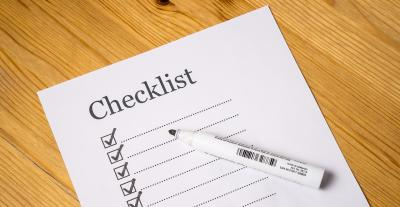 Checklist - quality management with LABC