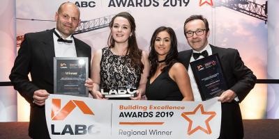 Winners at the LABC North West Building Excellence Awards 2019
