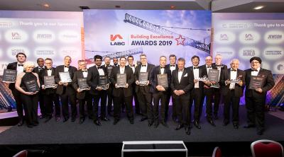 Winners and Highly Commended of the LABC Central Region Building Excellence Awards 2019