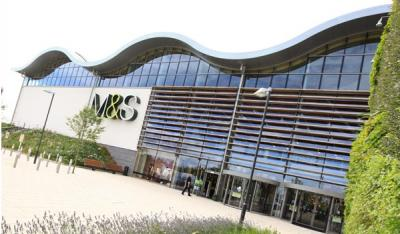 Marks and Spencer's sustainable store at Cheshire Oaks