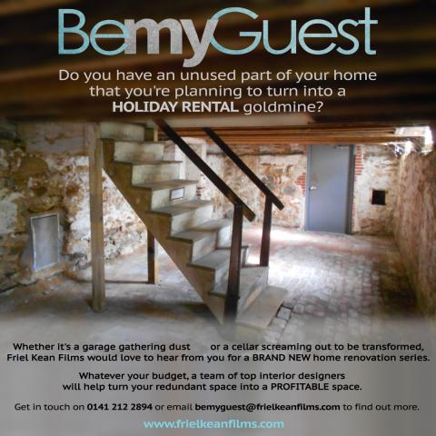 Be My Guest flyer