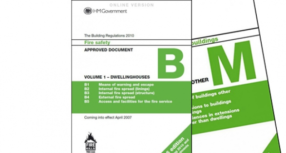 Approved Documents B and M - DCLG review