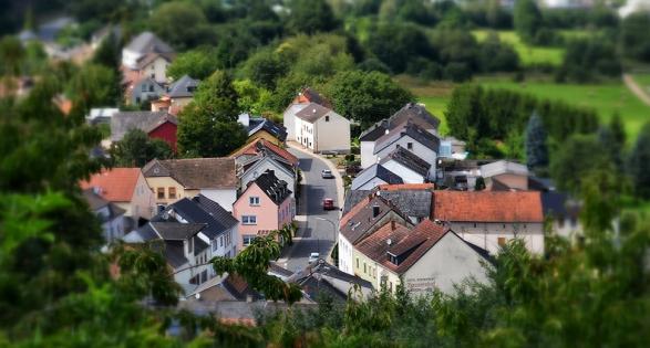 Garden miniature village - Small is beautiful FMB report