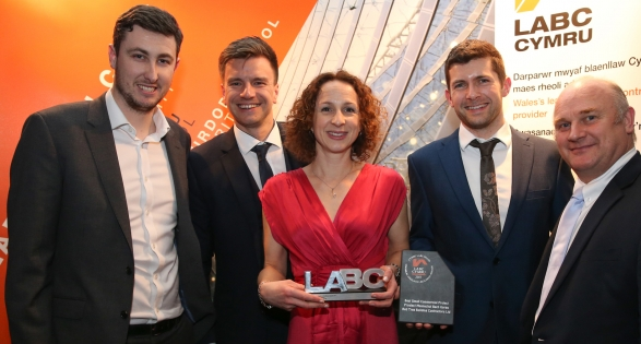 LABC North Wales Building Excellence Awards 2017