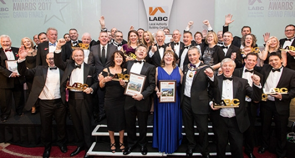 LABC Building Excellence Awards Grand Finals award winners