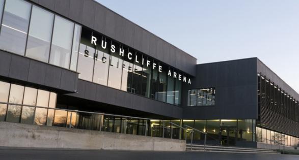 Rushcliffe Arena Nottingham - header image