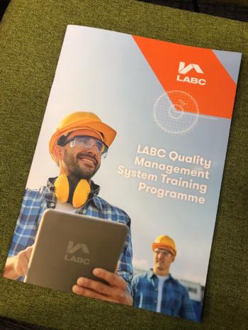 LABC Quality Management brochure