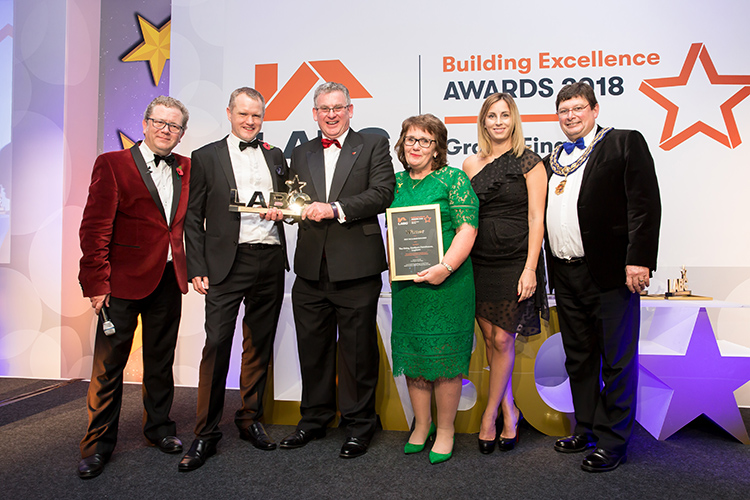 Winners at the LABC Building Excellence Awards Grand Finals